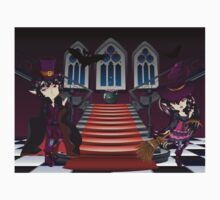 Gothic Stairs and Witch 7 Kids Clothes