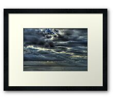 Seascape_5446 Framed Print