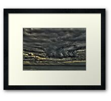 Seascape_5455 Framed Print