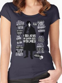 Detective Quotes Women's Fitted Scoop T-Shirt