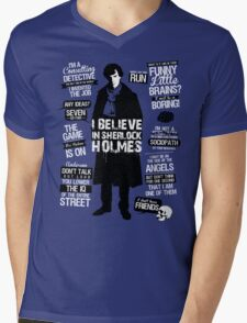 Detective Quotes Mens V-Neck T-Shirt