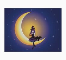 Witch on the Moon Baby Tee
