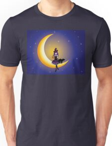 Witch on the Moon Unisex T-Shirt