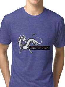 Spirited away dragon Tri-blend T-Shirt
