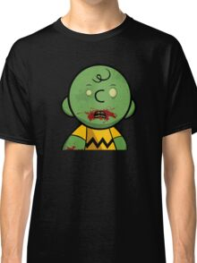 Zombie Charlie Brown Classic T-Shirt