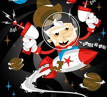 Yippee-Ki-Yay!!! by AtomicRocket