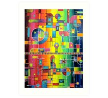 Circuitry Hooked In Art Print