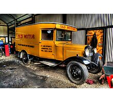 Vintage Ford Van Photographic Print