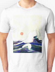 Art Nouveau Seascape T-Shirt
