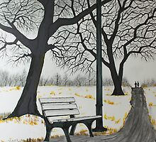 The Bench by Jack G Brauer