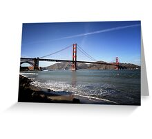 Golden Gate Bridge I Greeting Card
