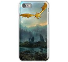 Golden Dragon Mountain iPhone Case/Skin