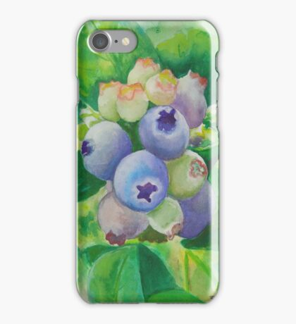 Blueberry iPhone and iPad case iPhone Case/Skin
