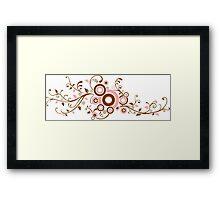 Paisley Vines Framed Print