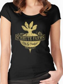 Schrute Farms (Special Mose edition!) Women's Fitted Scoop T-Shirt