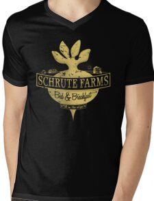 Schrute Farms (Special Mose edition!) Mens V-Neck T-Shirt