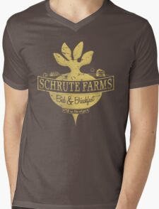 Schrute Farms (Special Mose edition!) Mens V-Neck T-Shirt