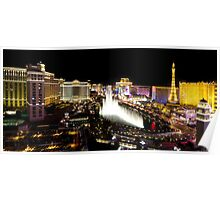 Vegas at night Poster