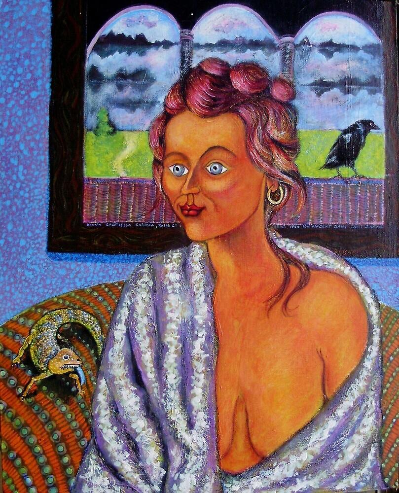 My Candid Mona Lisa by ivDAnu