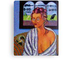My Candid Mona Lisa Canvas Print