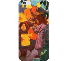 Chinese Lanterns Vintage painting iPhone Case/Skin