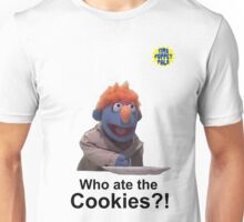Who ate the cookies?! Unisex T-Shirt