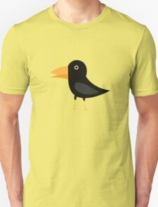 Black cute raven T-Shirt