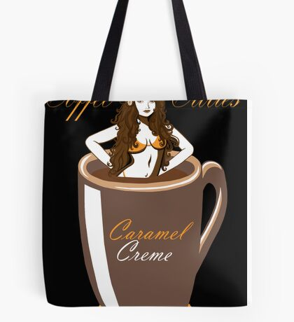 Coffee Cuties Caramel Creme Tote Bag