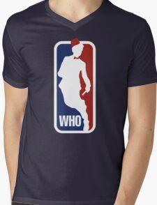 WHO Sport No.11 Mens V-Neck T-Shirt