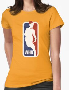 WHO Sport No.11 Womens Fitted T-Shirt