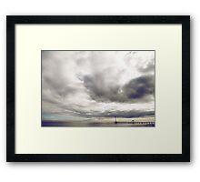 Boardwalk Sunset Framed Print