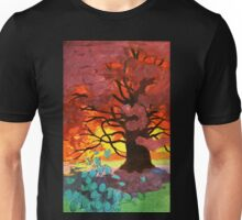 Art Nouveau Autumnal Tree Unisex T-Shirt