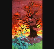 Art Nouveau Autumnal Tree Unisex T-Shirt