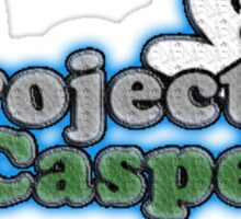 Project Casper T-Shirt by Anonymous Sticker