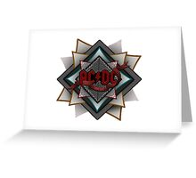 AC-DC Greeting Card