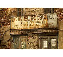 India Electric Co. Photographic Print