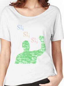 WWE Si Si Si Alberto Del Rio Women's Relaxed Fit T-Shirt