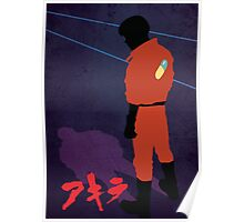 Akira!! minimalist / pop art inspired Poster