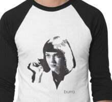 Mia Wallace by burro Men's Baseball ¾ T-Shirt