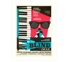 Alfred Hitchcock's The Blind Man by Stuart Manning Art Print