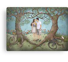 Josh and Emily Canvas Print