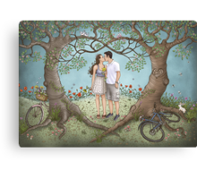 Josh and Emily Canvas Print