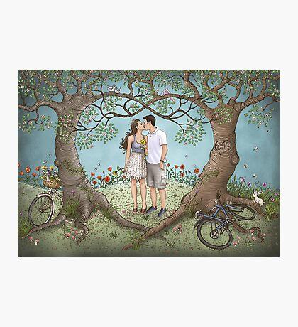 Josh and Emily Photographic Print
