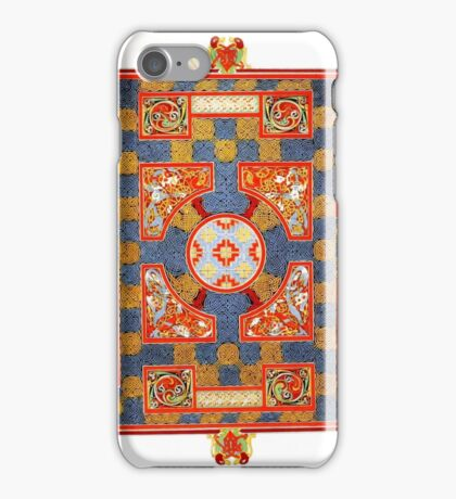 Medieval pattern design iPhone Case/Skin
