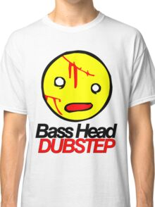 Bass Head Dubstep  Classic T-Shirt