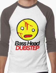 Bass Head Dubstep  Men's Baseball ¾ T-Shirt