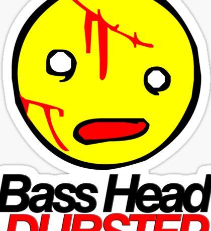 Bass Head Dubstep  Sticker