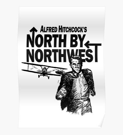 Alfred Hitchcock's North by Northwest by Burro! Poster