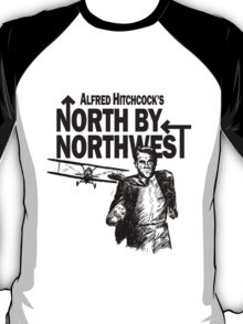 Alfred Hitchcock's North by Northwest by Burro! T-Shirt