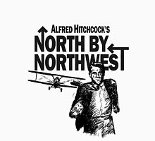 Alfred Hitchcock's North by Northwest by Burro! Men's Baseball ¾ T-Shirt